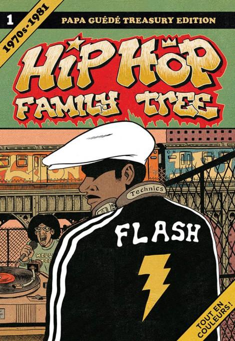 couverture bd hip hop family tree