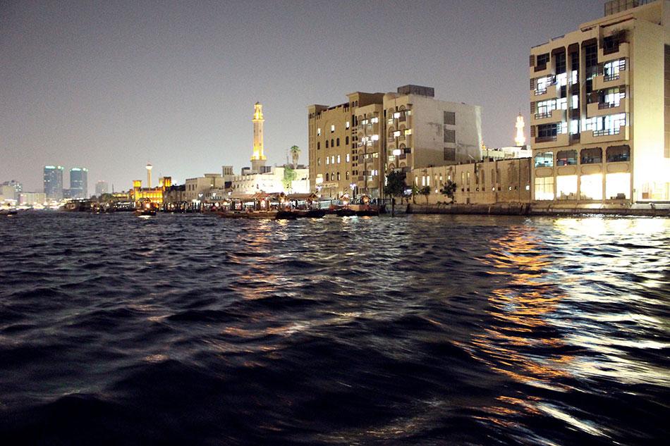 Quartier de Bur Dubaï aux Emirats Arabes Unis