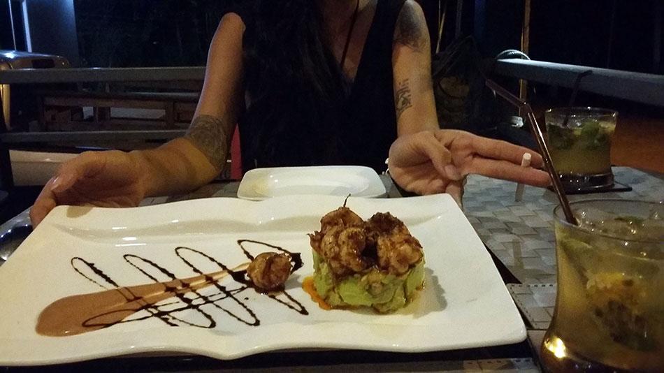 Le restaurant Chic & Chill est une des meilleures adresses de l'île de Koh Mak en Thaïlande