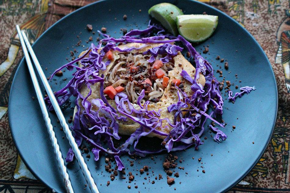 La recette du pad thai végétarien à la manière de Chef An