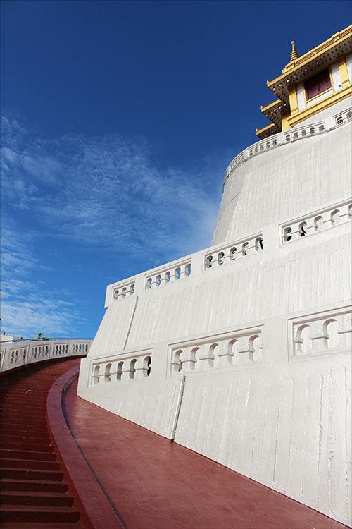 Parmi les visites à ne pas rater à Bangkok: Wat Saket