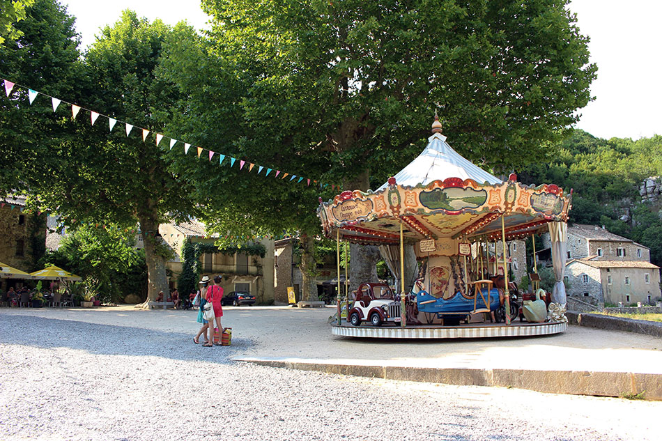 Le village de Labeaume compte parmi les plus beaux villages du Sud Ardèche et de France