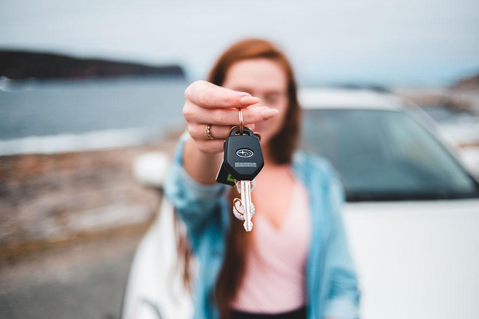 Comment se passe la prise en charge d'une voiture de location?