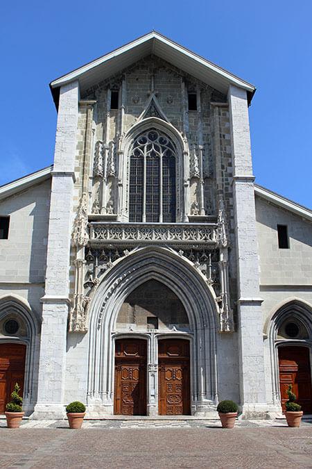 Cathédrale Saint François de Sales à Chambéry en Savoie (France)