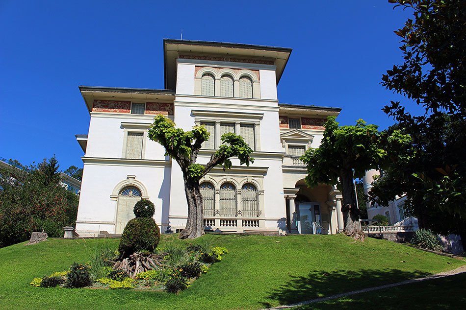 Le musée Faure d'Aix-les-Bains dans le département de la Savoie en France