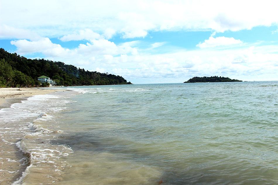 Plage de Kai Bae sur l'île de Koh Chang dans la province de Trat en Thaïlande.