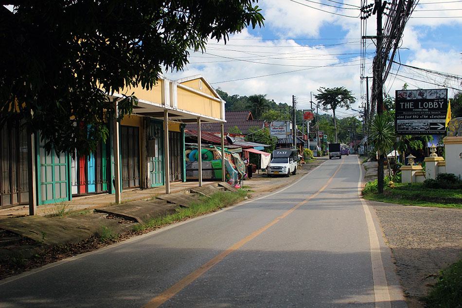 Village de Kai Bae sur l'île de Koh Chang dans la province de Trat en Thaïlande.