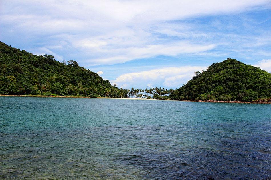 Ile de Koh Ngam au sud de Koh Chang en Thaïlande