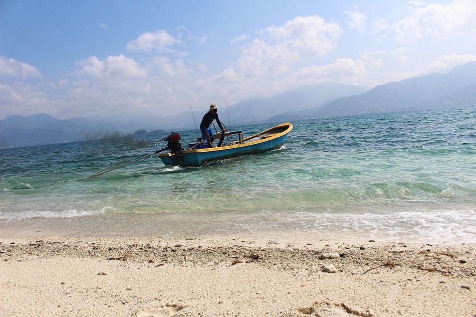 Excursion à Koh Yuak, petite île déserte proche de Koh Chang en Thaïlande