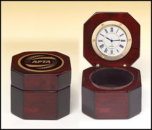 BC521 Rosewood Box Clock