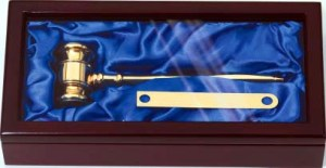 Brass Gavel GV100