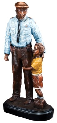 Police Statue RFB104