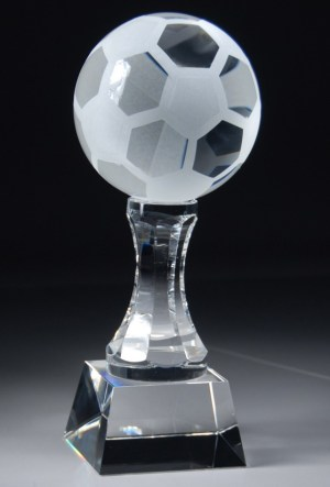 Crystal Soccer Ball Award CRY152