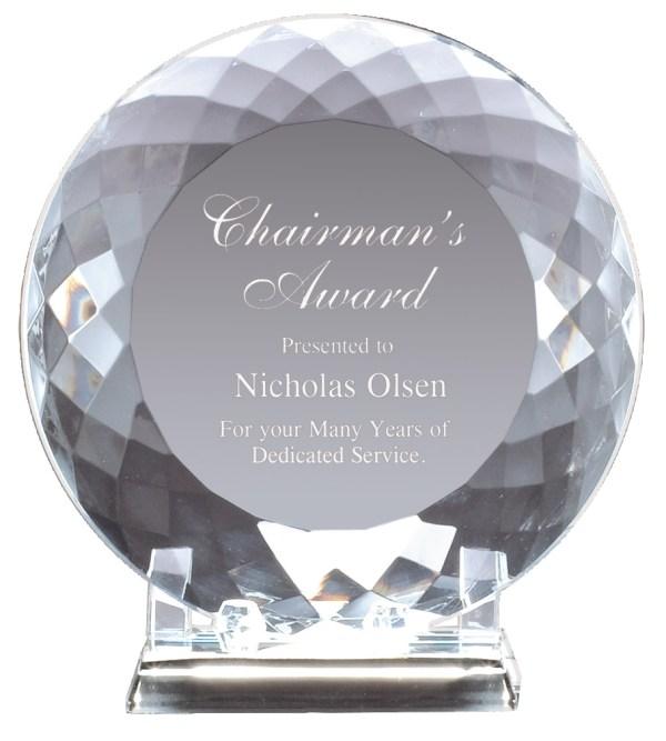 Crystal Plate Award CRY175 CRY176 CRY177