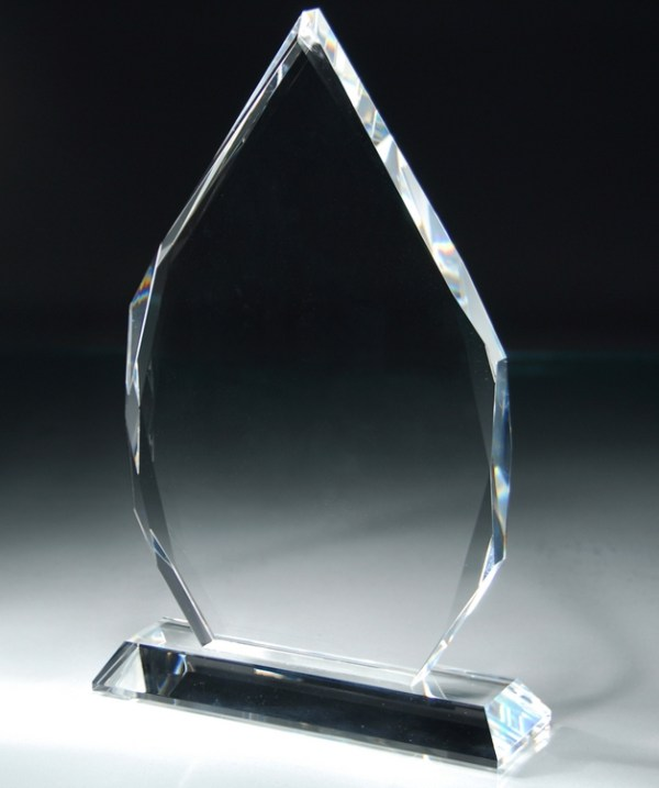 CRY37 Crystal Award Blank