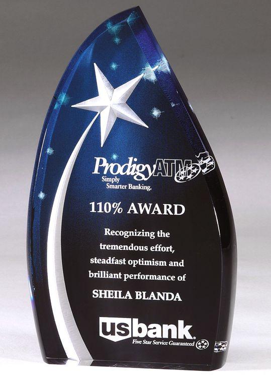 DT54AC Acrylic Award