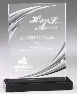 DT60B Acrylic Award - Nouveau
