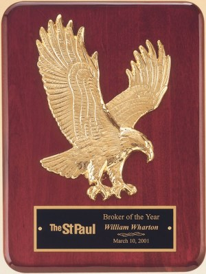 P3749 Eagle Plaque