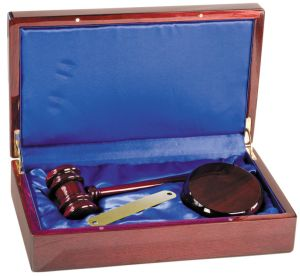 Rosewood Gavel Box Set PFSD10