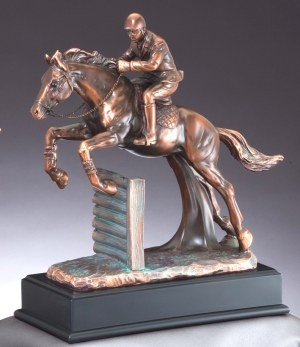 Jumping Horse Statue RFB076