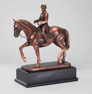 Male Dressage Horse Statue RFB190M