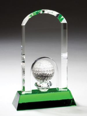 Crystal Golf Award CRY357 CRY358 CRY359