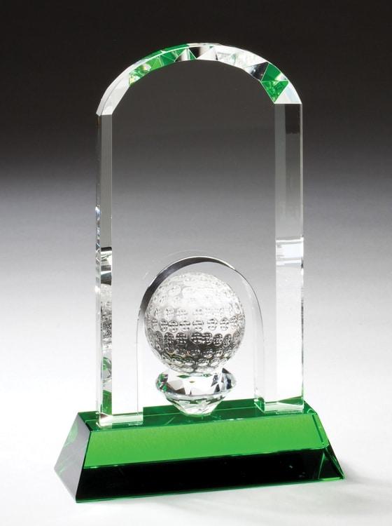 Crystal Golf Award CRY357 CRY358 CRY359