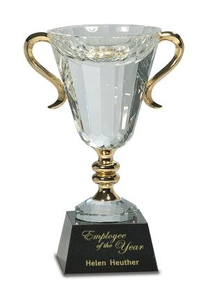 Crystal Trophy Cup CRY039XL