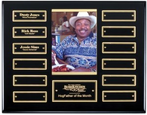 APT515D-G Black Photo Perpetual Plaque