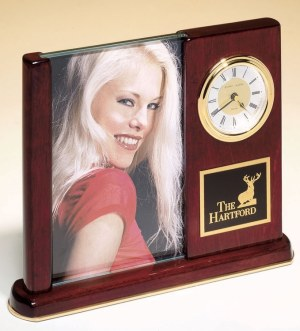 BC19 Picture Frame Desk Clock