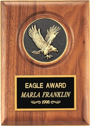 P3168 Eagle Plaque