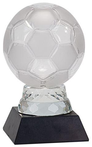 Glass Soccer Trophy SBG101 SBG104