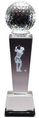 Ladies Golf Trophy CRY293