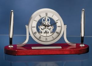 Skeleton Clock Desk Set 5263RC