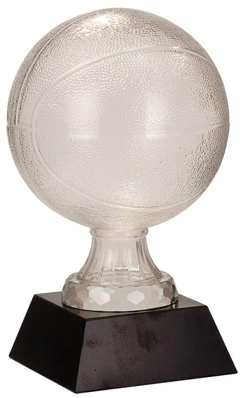 SBG105 Glass Basketball Trophy