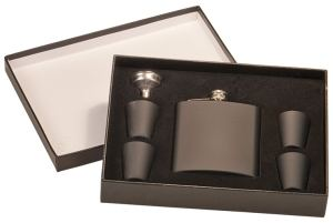 Black Flask Set FSK652SET