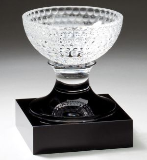 CRY339 Crystal Golf Bowl Trophy