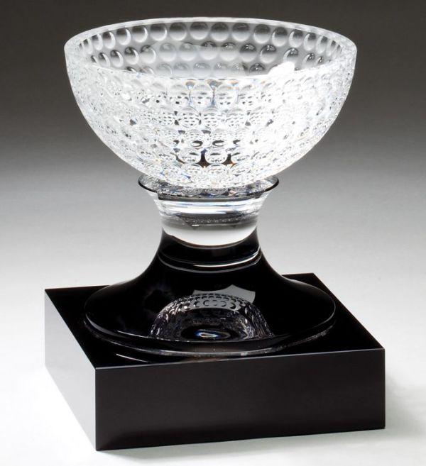 CRY339 Crystal Golf Bowl Trophy