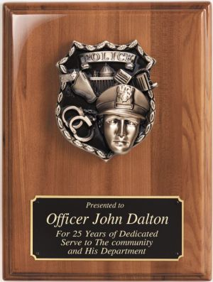 Police Plaque WP226