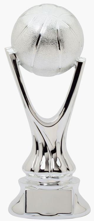 Silver Basketball Trophy RG5002