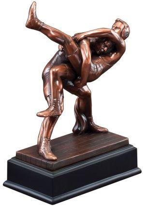 Wrestling Statue Trophy RFB017