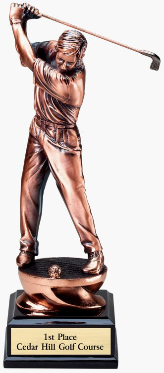 G1503 Golf Statue Trophy