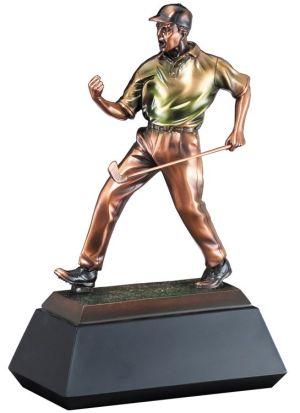 RFB073 Golf Statue Trophy
