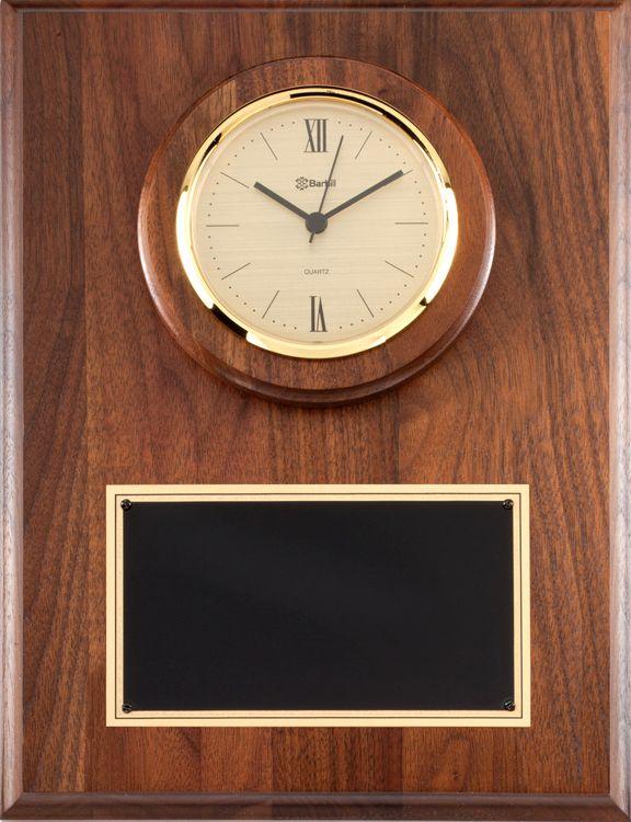 P940 Walnut Wall Clock