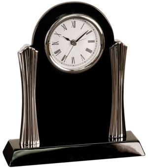 T307 Black Desk Clock