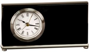 T361 Black Desk Clock