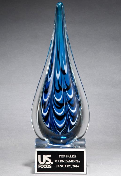 2220 Glass Teardrop