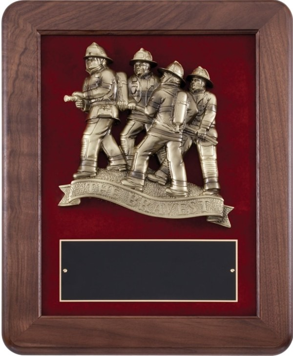 AT118 Firefighter Plaque