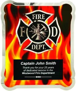 Hero Firefighter Plaque HER101