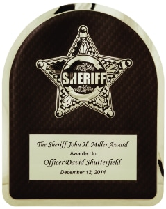 Sheriff Plaque HER104